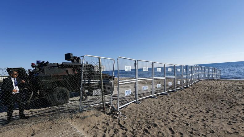 Nicht gerade verlockend ist vielerorts die Atmosphäre an den Badestränden der Türkei