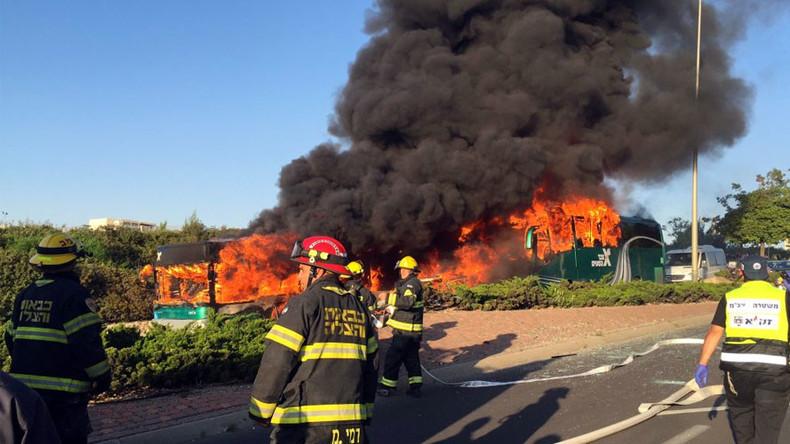 Bus-Explosion in Jerusalem: Mindestens 15 Verletzte - Polizei spricht von Attentat