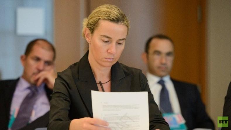 Live: Mogherini nach EU-Außenminister-Treffen -  Pressekonferenz (deutsche Übersetzung)