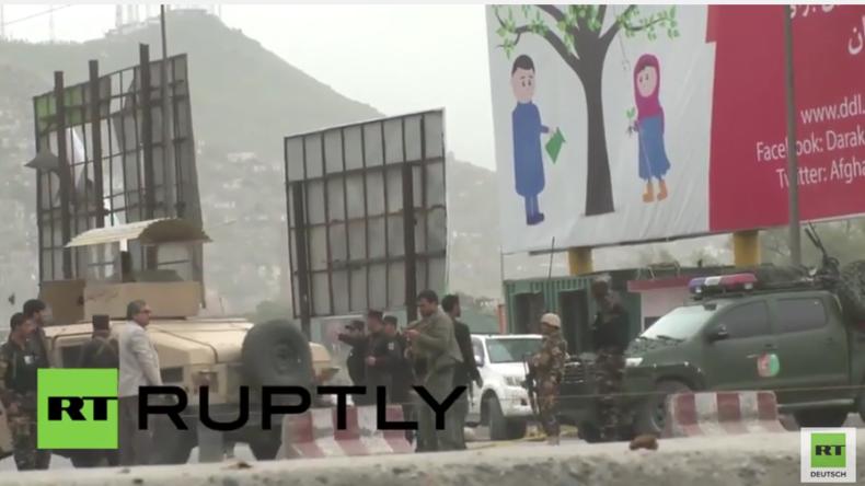 Afghanistan: Mehrere Tote und über 300 Verletzte in Kabul nach Selbstmordanschlag nahe US-Botschaft