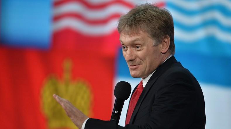 Der Pressesprecher des russischen Präsidenten, Dmitri Peskow.