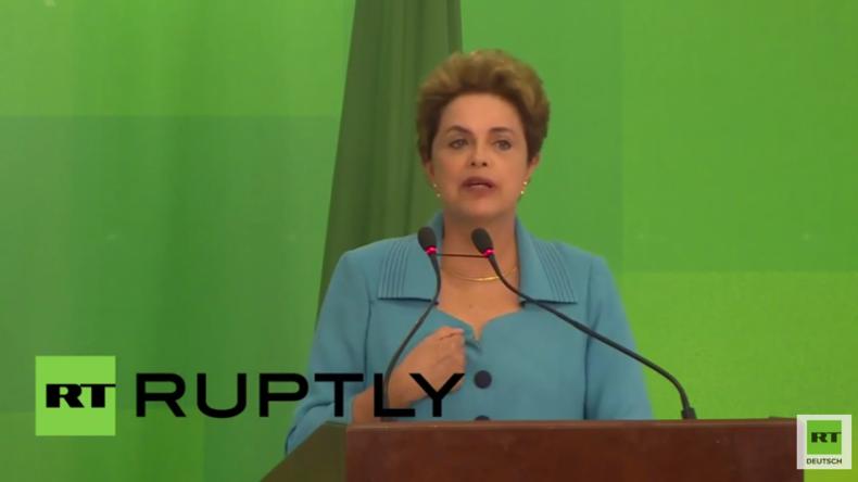 """Brasilianische Präsidentin Dilma Rousseff: """"Das ist ein Putsch"""""""