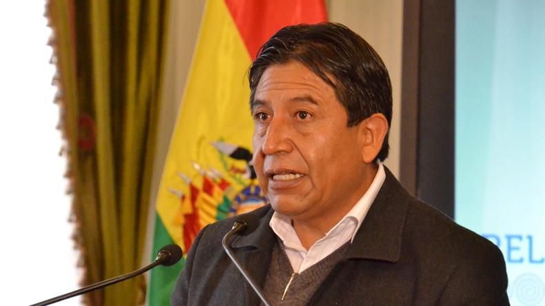 """Boliviens Chefdiplomat im RT-Interview: """"Wir wollen nur, dass es in Bolivien keine Armen mehr gibt"""""""