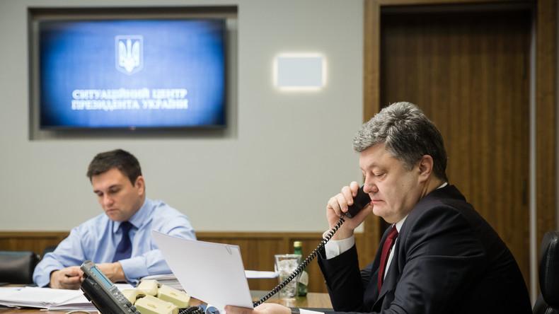 Putin und Poroschenko besprechen die Situation von Nadeschda Sawtschenko sowie Situation im Donbass