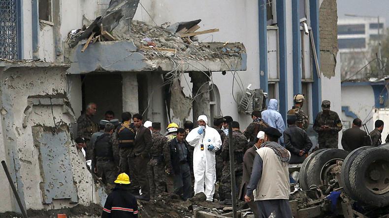 Kabul von zweiter Explosion erschüttert, nach Selbstmordanschlag Nähe US-Botschaft mit 28 Toten