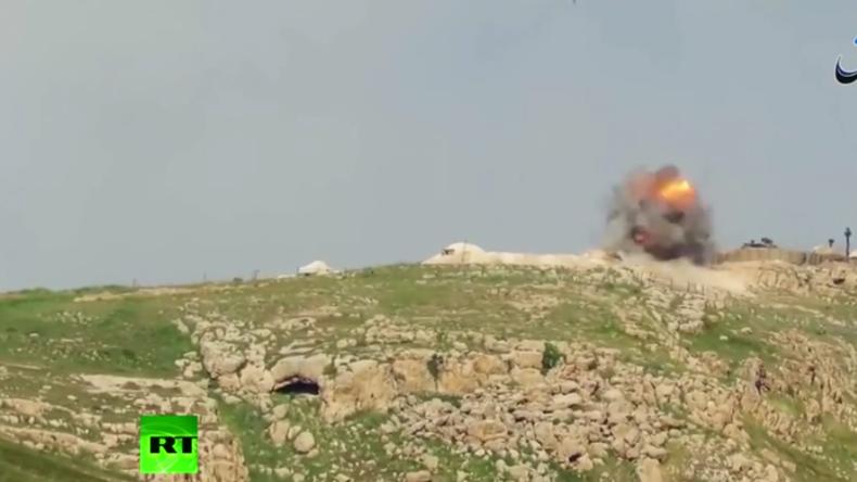 Irak: IS veröffentlicht Video, das Vernichtung von türkischem Panzer zeigen soll