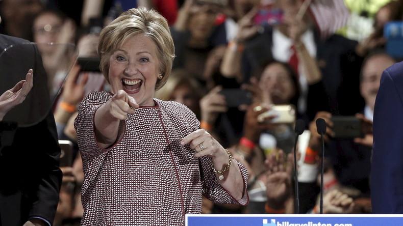Hillary Clinton und Donald Trump siegen bei Vorwahlen in New York
