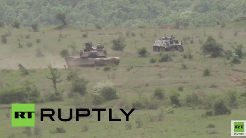 Bulgarien: US-Army trainiert zusammen mit bulgarischen Truppen für finale NATO-Übung