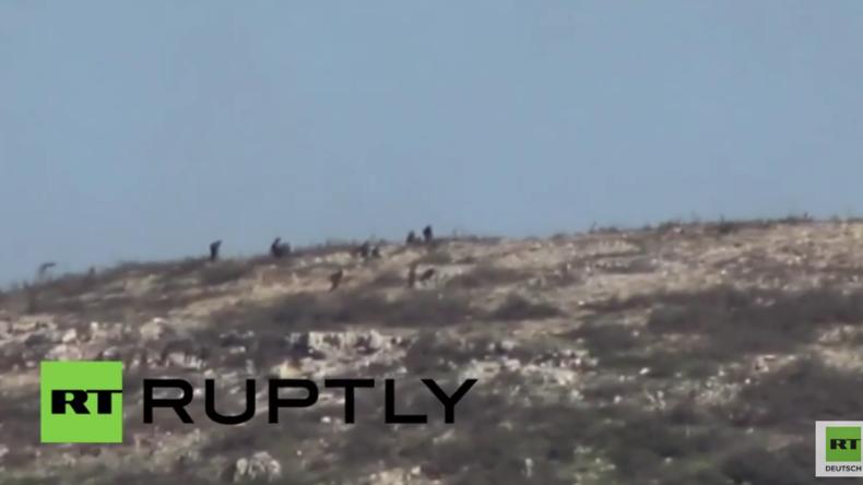Syrien: Schwere Kämpfe zwischen Syrisch Arabischer Armee und Al-Nusra-Front nordöstlich von Latakia