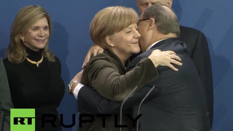 """Bundeskanzlerin Merkel wird mit dem """"Four Freedoms Award"""" ausgezeichnet"""
