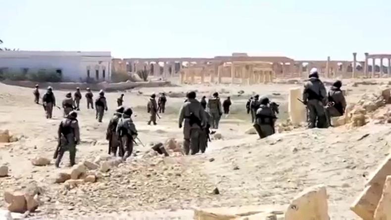 Syrien: Russische Pioniere haben erfolgreich das historische Palmyra von allen Sprengkörpern befreit