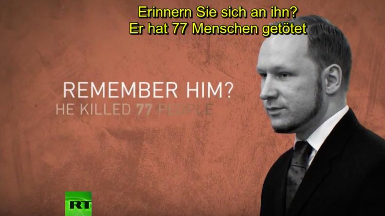 """""""Inhumane Haftbedingungen"""" - Massenmörder Breivik gewinnt Klage gegen norwegischen Staat"""
