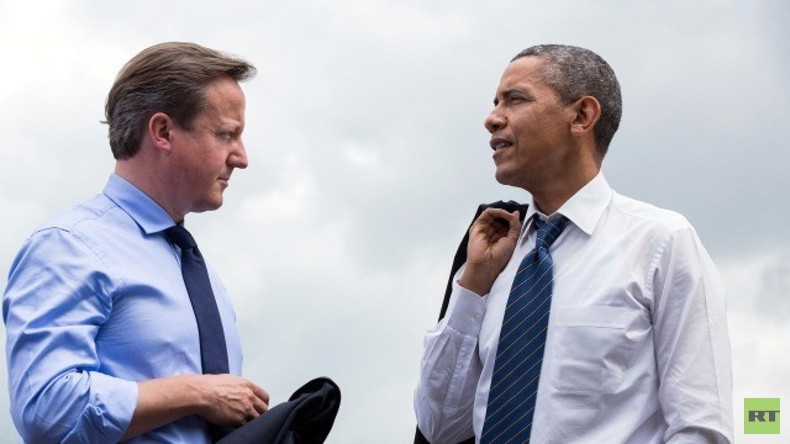 Live: Obama and Cameron geben gemeinsame Pressekonferenz in London