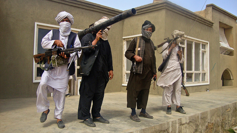 Taliban-Kämpfer in Afghanistan.