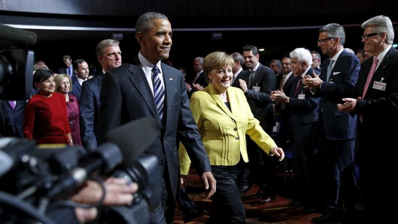 """Heimlicher TTIP-Gipfel: Barack Obama will die """"Wirtschafts-NATO"""" noch in diesem Jahr"""