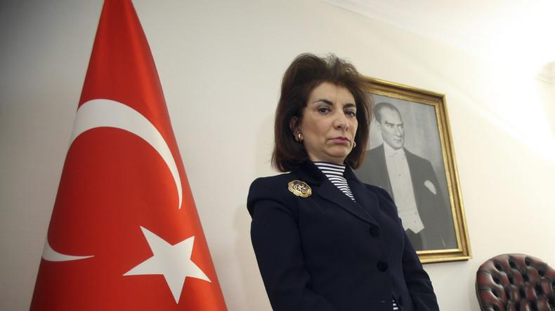 """Die türkische Botschafterin zu Schweden, Zergun Koruturk, wurde bereits 2010 zurückbeordert, nachdem das schwedische Parlament die Massaker an den Armeniern als """"Genozid"""" bezeichnet hatte."""