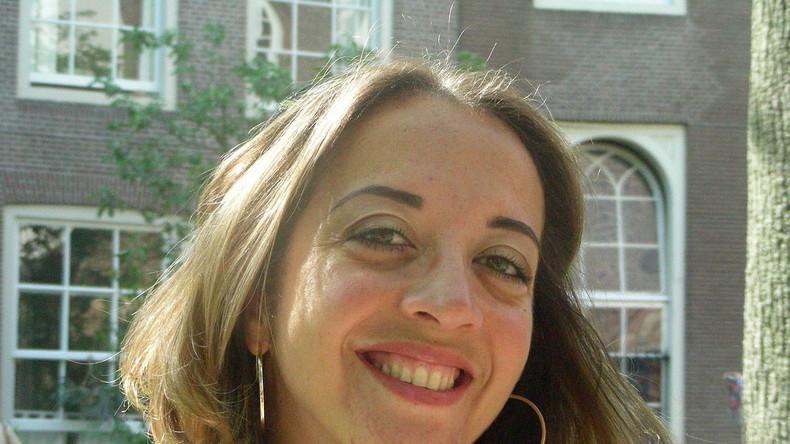 Die niederländische Journalistin Ebru Umar