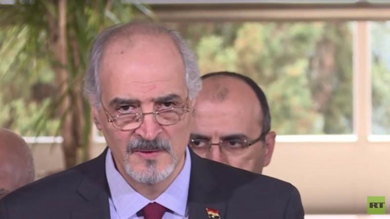 Live: Syrien-Gespräche in Genf - Jaafari gibt Presseerklärung