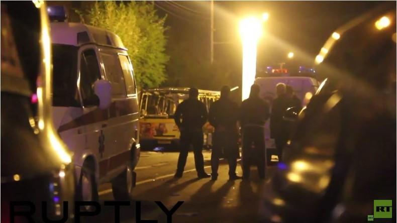 Armenien: Busexplosion in Jerewan mit mindestens 2 Toten und 6 Verletzten