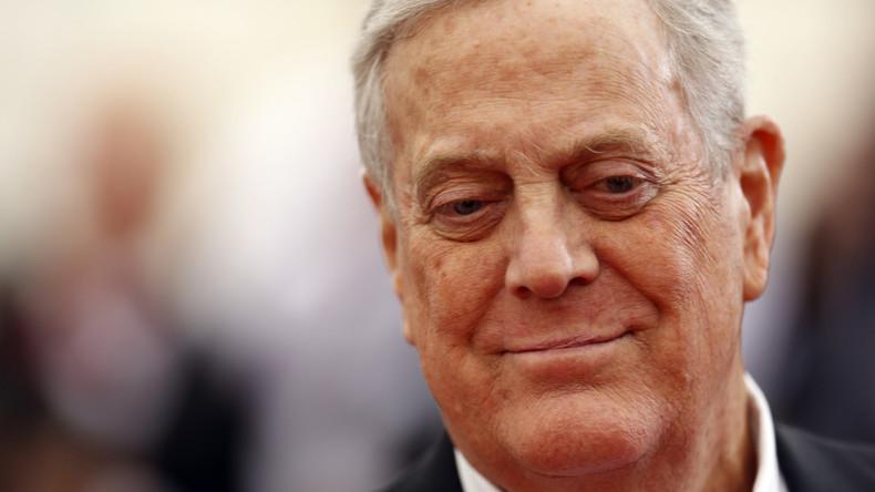 Big Money für Hillary: Milliardär und Präsidentenmacher Charles Koch wünscht Clinton im Weißen Haus