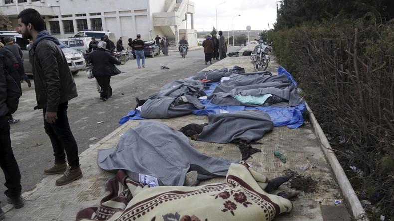 Neue Schätzung des UN-Sondergesandten: Vermutlich weit über 400.000 Tote durch Krieg in Syrien