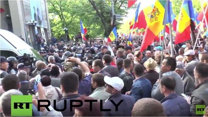 Moldawien: Zusammenstöße bei Anti-Regierungs-Protest in Chisinau
