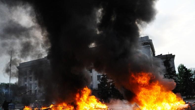 Zweiter Jahrestag des Massakers - Kiew schickt 1.000 Nationalgardisten mit Schießbefehl nach Odessa