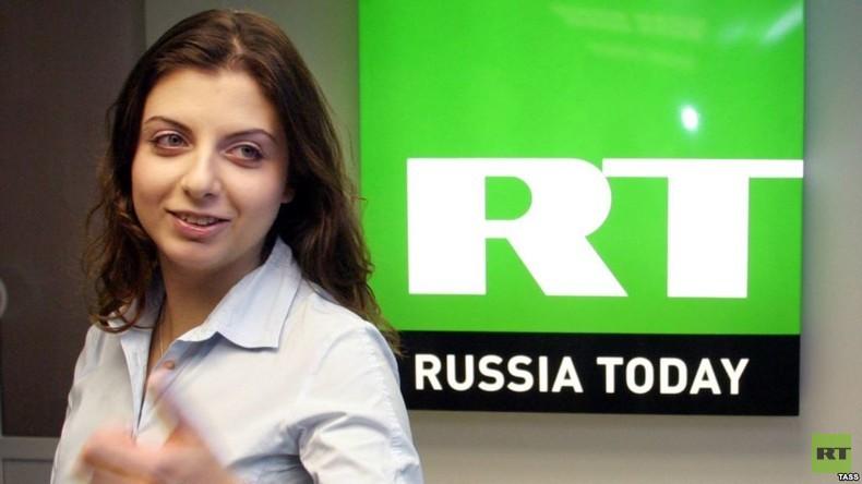 Margarita Simonjan, Chefredakteurin von RT, zeigt sich erfreut über die Ergebnisse der PwC-Studie