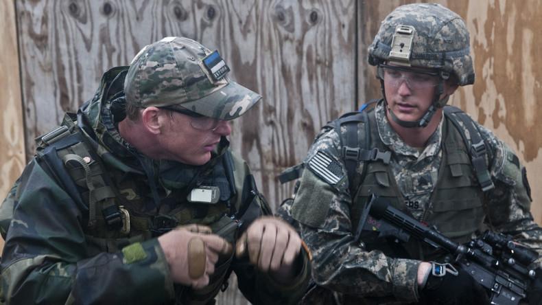 """""""Sturmwarnung"""" - Truppen aus Estland und den USA starten Manöver an der russischen Grenze"""