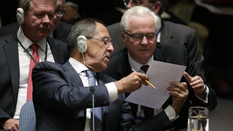 Russland legt UN-Sicherheitsrat Resolutionsentwurf zum 2. Jahrestag des Brandmassakers in Odessa vor