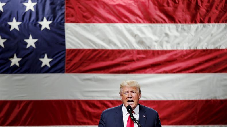 """""""America first"""" - Trumps Lieblingsmotto soll im Falle eines Wahlsieges auch seine Außenpolitik leiten"""