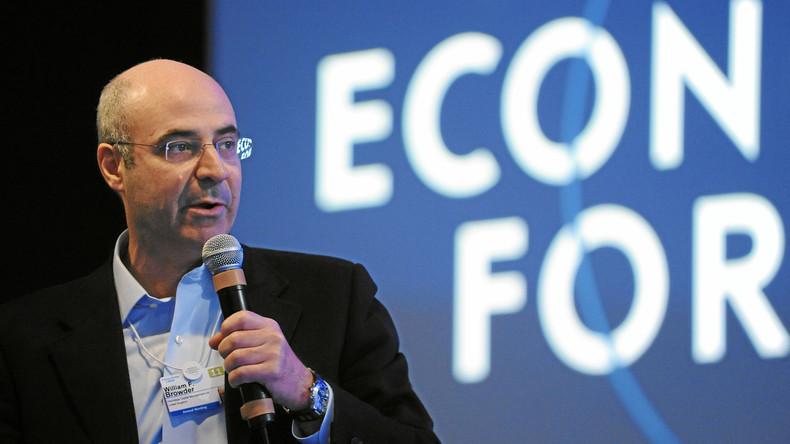"""Finanzbetrüger William Felix """"Bill"""" Browder auf dem Wirtschaftsforum in Davos im Januar 2011."""