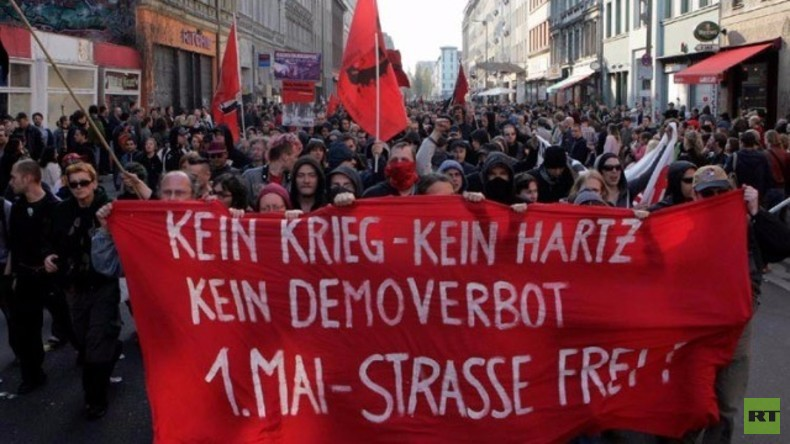 Live: 1. Mai Demo in Berlin