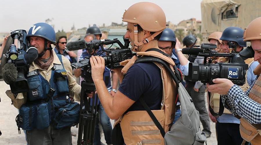 Russische Armee ermöglicht Journalisten Zugang zu befreitem Palmyra
