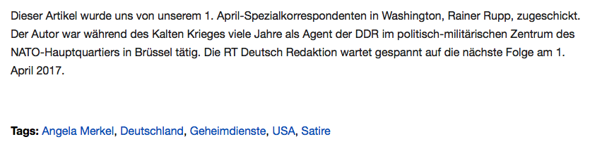 Screenshot RT Deutsch