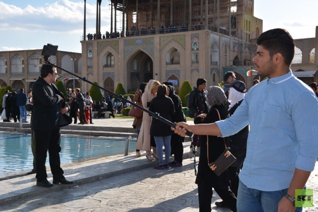 Bildergalerie: Die Iraner im Selfie-Wahn