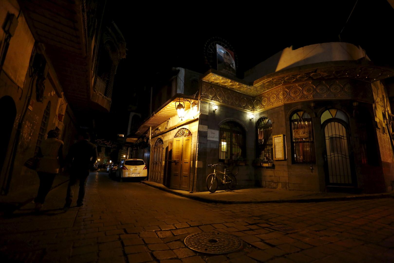 """""""La Marionnette Pub"""", Damaskus, 11. März 2016"""