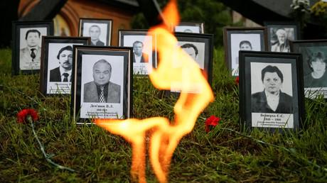 Gedenkzeremonie für die