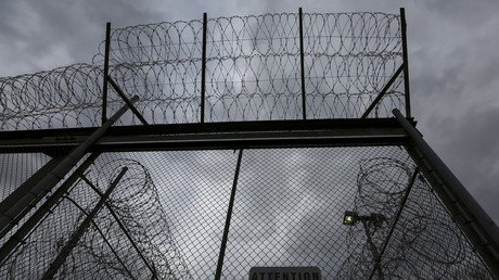 Eingangsbereich eines US-Gefängnisses
