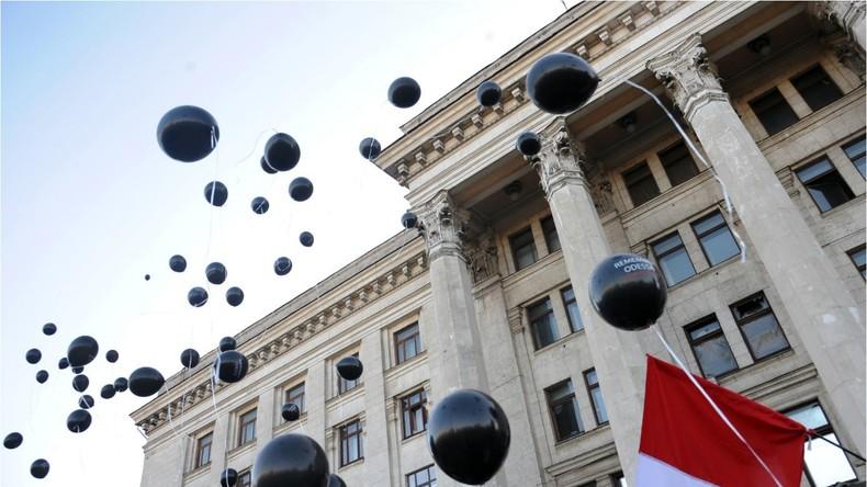 Live: Odessa gedenkt der Opfer des Brandmassakers im Gewerkschaftshaus 2014