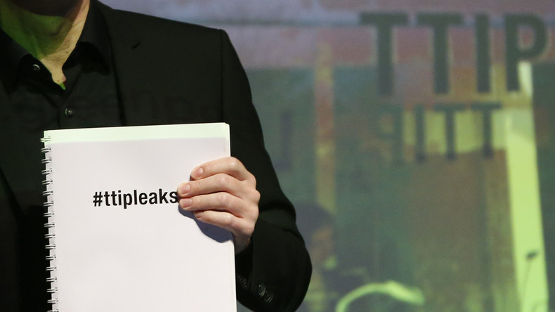 """Greenpeace veröffentlicht TTIP-Text: """"Anlass zu ernsthafter Besorgnis - Sieg des Big Business"""""""