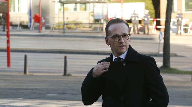 """""""Volksverräter hau ab"""" - Minister Maas in Zwickau in die Flucht geschlagen"""