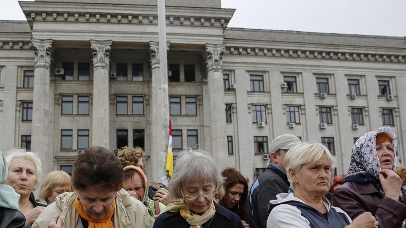 2. Jahrestag Odessa-Massaker: Kaum gerichtliche Aufarbeitung, Journalisten wird Einreise verweigert