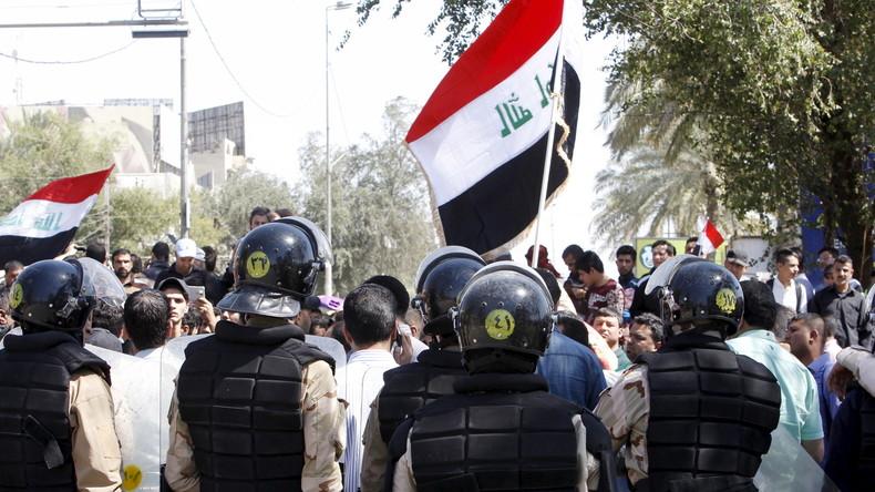 """Irak: """"Gegen Korruption der Elite"""" - Schiitischer Geistlicher zettelt Sturm auf Regierungsviertel an"""