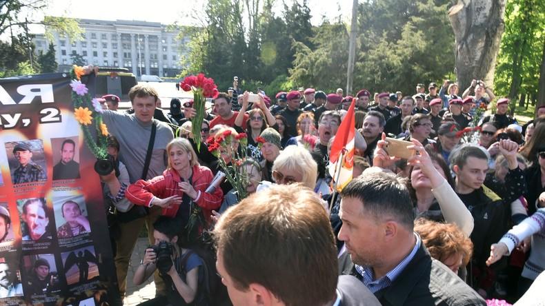 Odessa-Massaker: Gedenkveranstaltung trotz Verbot und Bombendrohungen