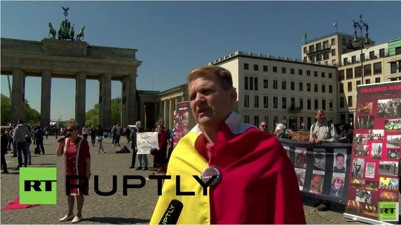 Berlin: Gedenken an Odessa-Massaker - Anti-Maidan Aktivisten verdammen US-Unterstützung für Kiew