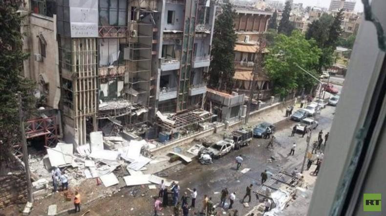 """""""Gemäßigte Rebellen"""" beschießen Krankenhaus in Aleppo, mindestens 12 Tote"""