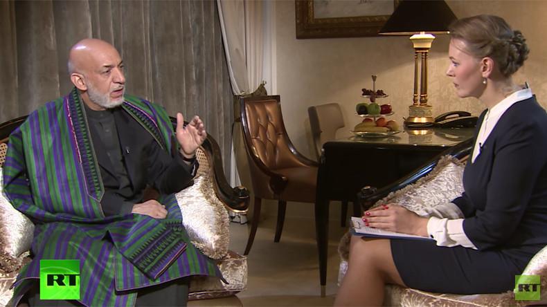 """Exklusiv-Interview mit Karzai: """"USA bekämpfen Terrorismus in den falschen Gegenden"""""""