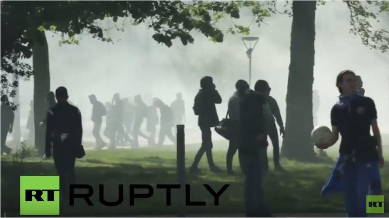 Frankreich: Zusammenstöße nach Anti-Arbeitsmarktreformen-Demo in Nantes