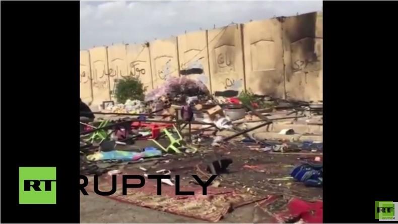 Irak: Bagdad beseitigt Spuren der tödlichen Bombenattacken von Montag